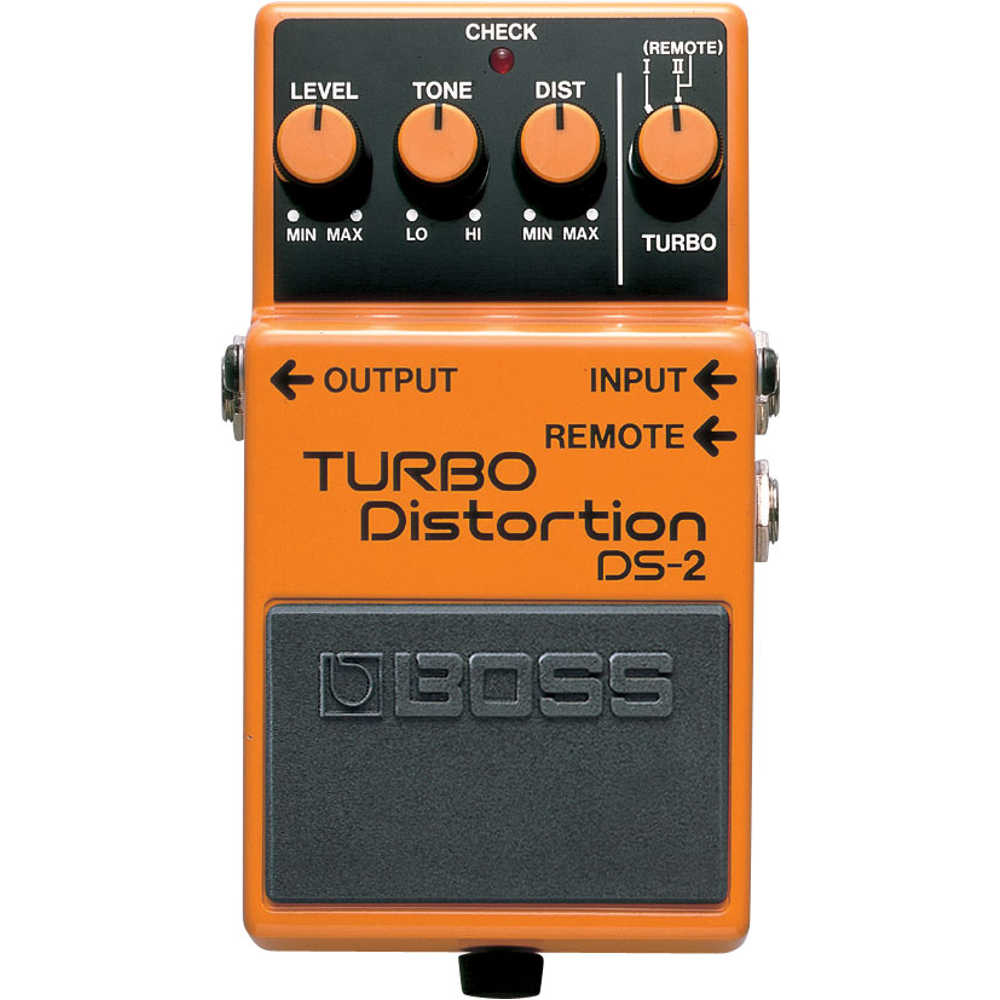 Boss DS2 Dual Turbo Distortion Pedal