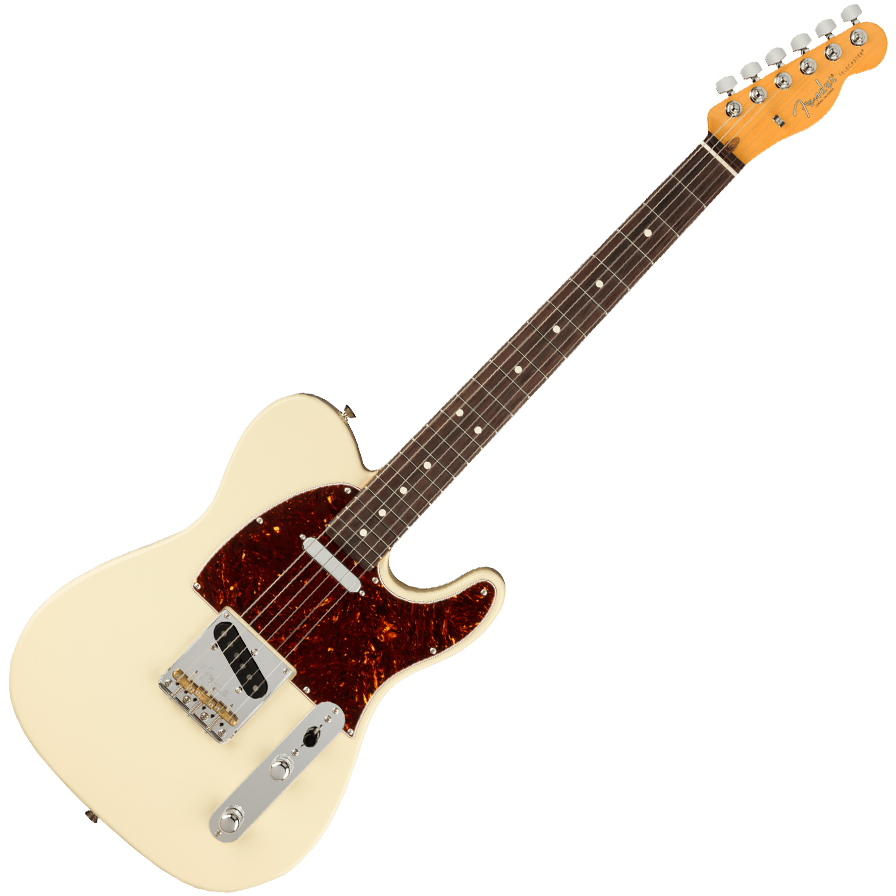 Fender American Professional II Telecaster - Rosewood/Olympic White