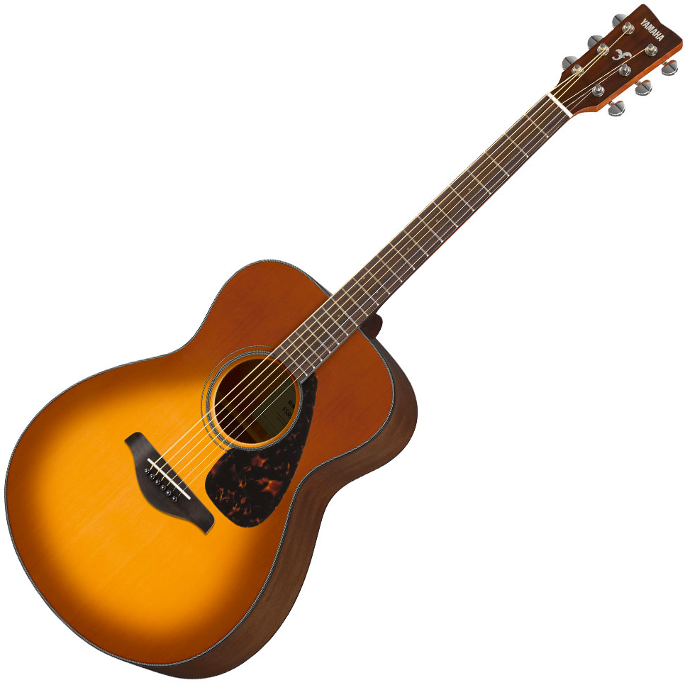 Yamaha FS800SDB//02 Small Body Acoustic Guitar - Sand Burst