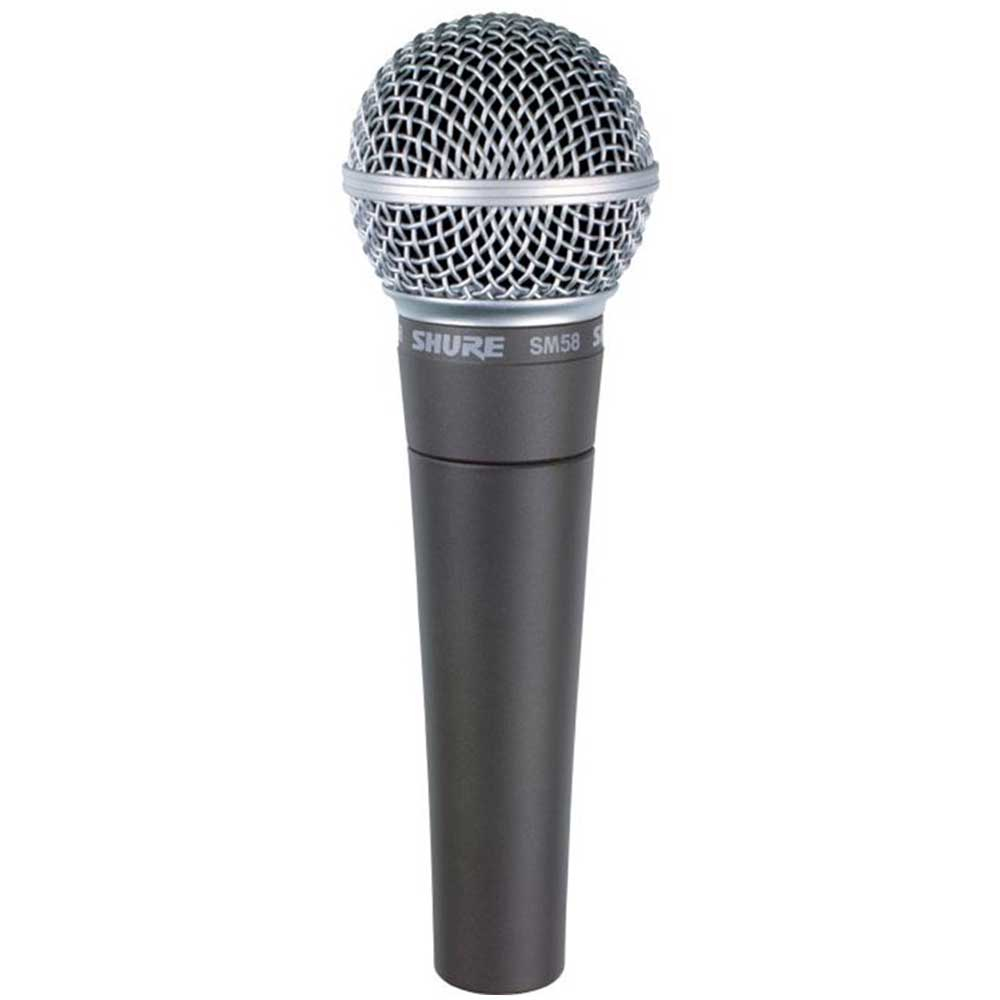 Shure SM58 Handheld Dynamic Vocal Microphone
