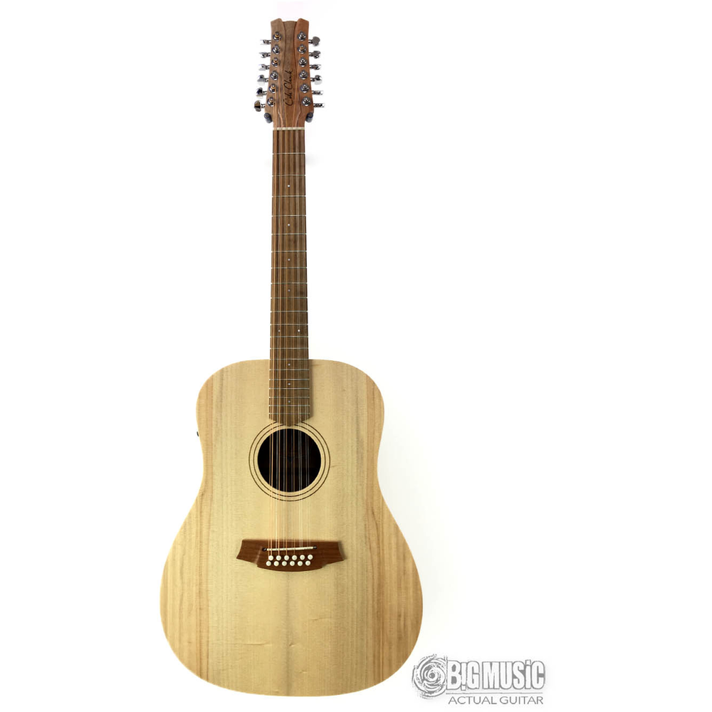 Cole Clark Fl Dreadnought - 12 String Bunya Face / Queensland Maple Back / Side & 3 Way Pickup