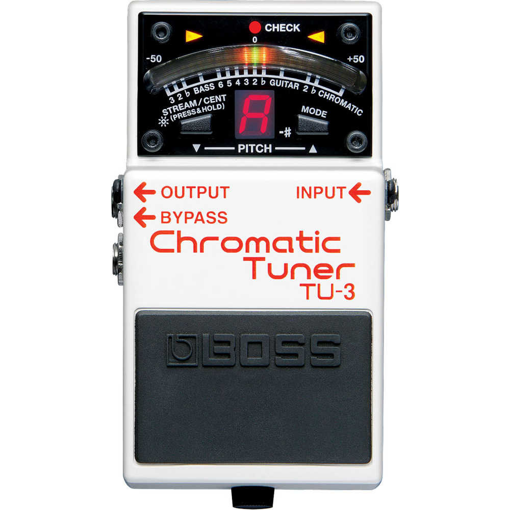 Boss TU3 Chromatic Tuner Guitar Pedal