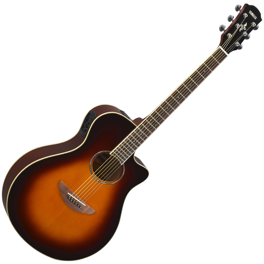 Yamaha APX600 Electric-Acoustic Guitar - Old Violin Sunburst