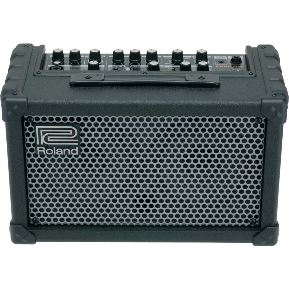 Roland Cube Street - Battery Powered Stereo Amplifier - Black