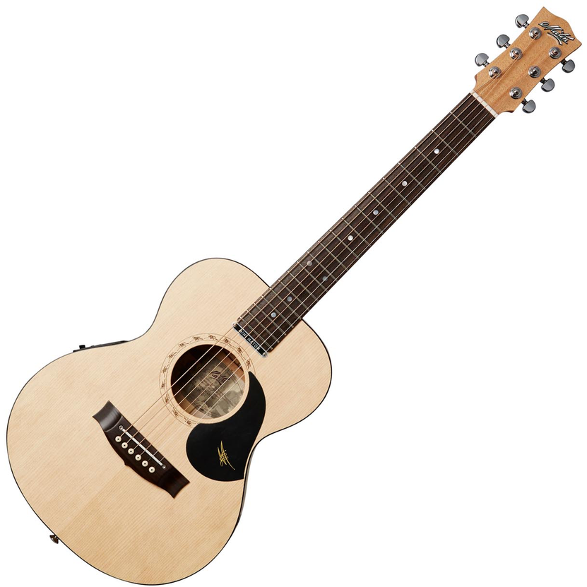 Maton EM6 All solid Mini Acoustic/Electric Guitar