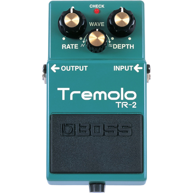 Boss TR2 Vintage Tremolo Effects Pedal