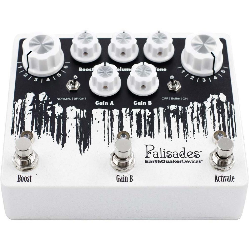 Earthquaker Devices Palisades Mega Ultimate Drive Overdrive Pedal