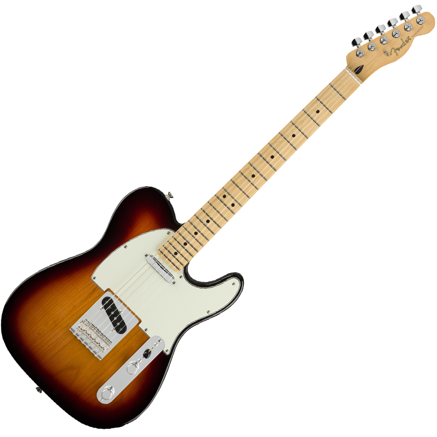 Fender Player Telecaster Electric Guitar - Maple Fretboard / 3-Color Sunburst