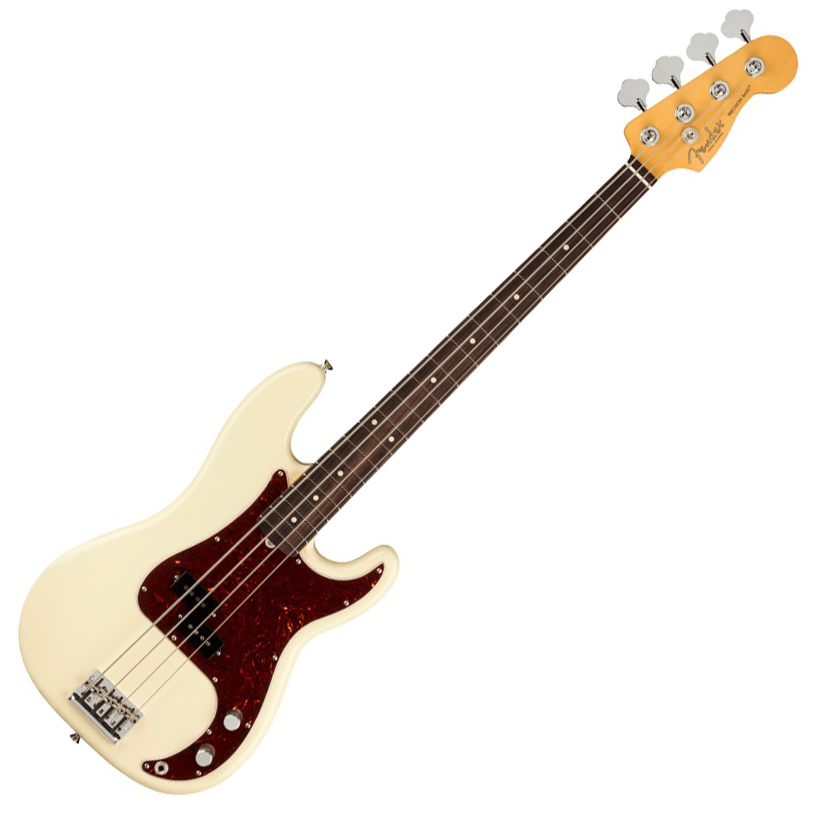 Fender American Professional II Precision Bass - Rosewood/Olympic White