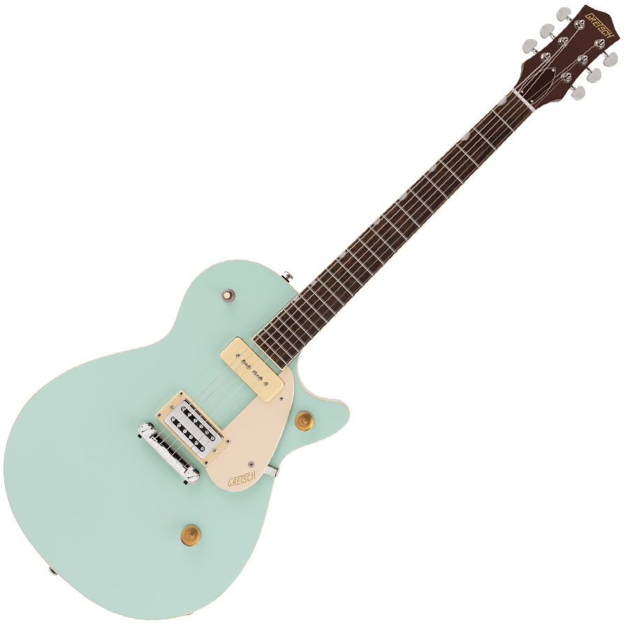 Gretsch G2215-P90 Streamliner Junior Jet Club - Laurel Fingerboard - Mint Metallic