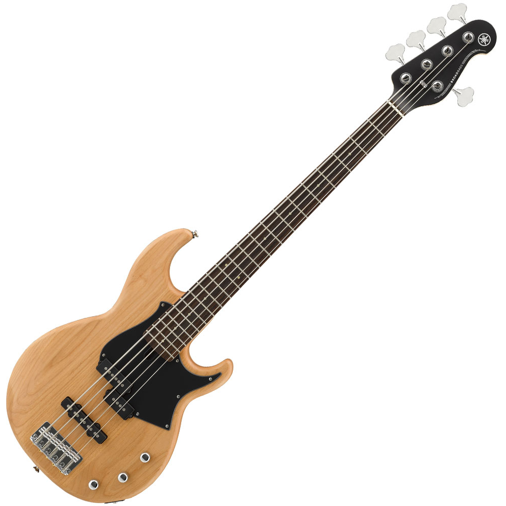 Yamaha BB235 5-String Bass Guitar - Yellow Natural Satin