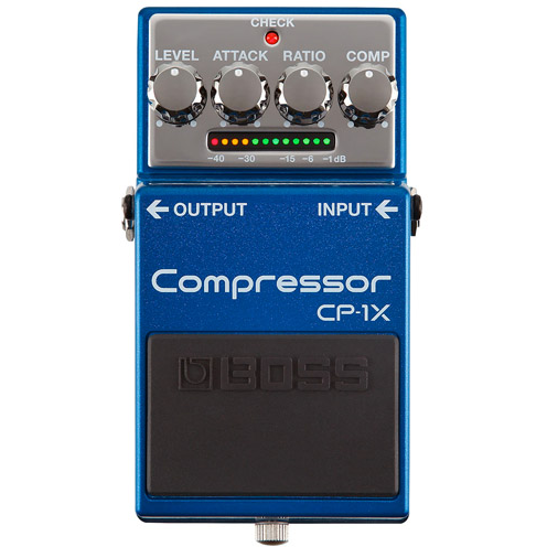 Boss CP1X Compressor Guitar Pedal