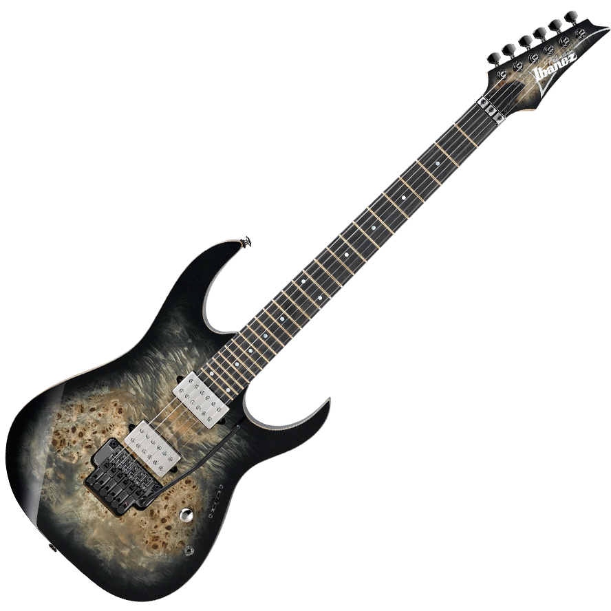 Ibanez RG1120PBZ CKB Electric Guitar - Charcoal Black Burst