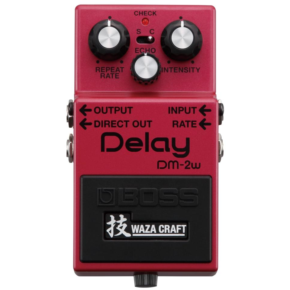 "Boss DM-2W ""Waza Craft"" Special Edition Analog Delay Pedal"