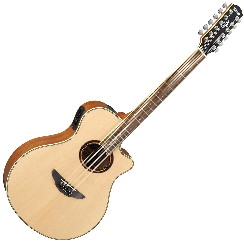 Yamaha APX700II Natural 12-String Electric-Acoustic Guitar