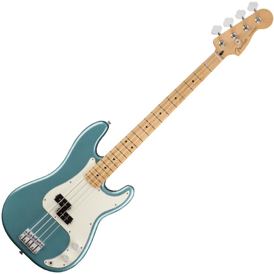 Fender Player Precision Bass Guitar - Maple / Tidepool