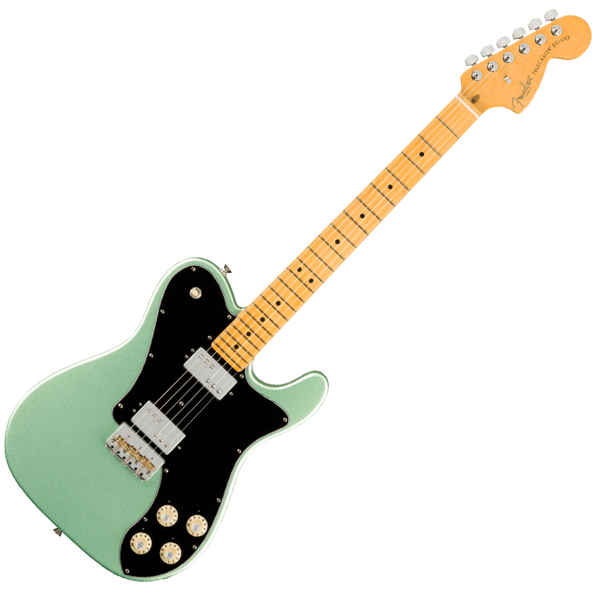 Fender American Professional II Telecaster Deluxe - Maple/Mystic Surf Green