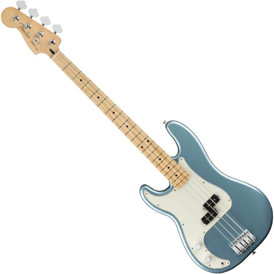 Fender Player Precision Bass Guitar Left-Handed - Maple / Tidepool