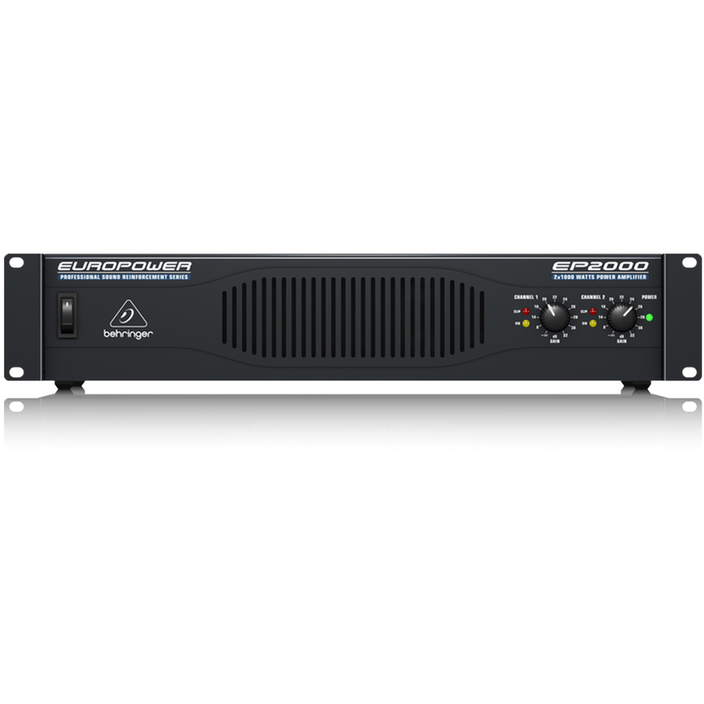 Behringer Europower Ep2000 PA Amplifier