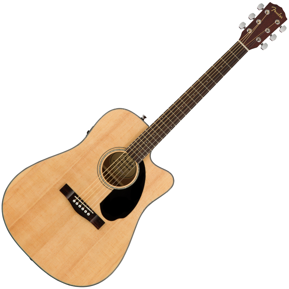 Fender CD-60SCE Dreadnought - Natural