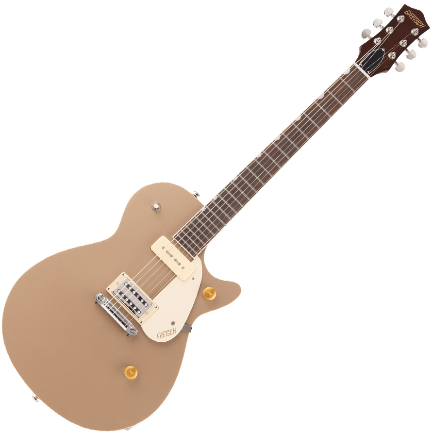 Gretsch G2215-P90 Streamliner Junior Jet Club - Laurel Fingerboard - Sahara Metallic