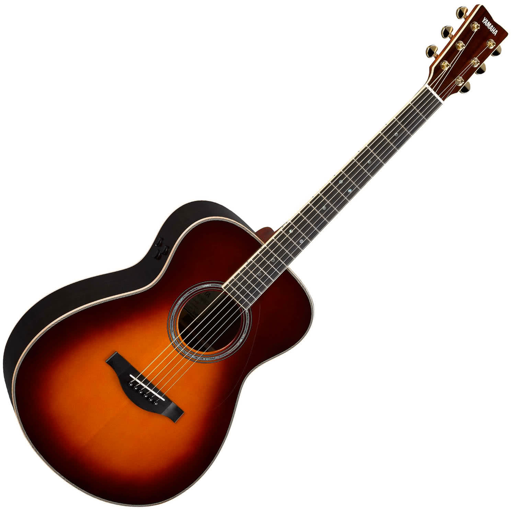 Yamaha LS16 TransAcoustic Acoustic/Electric Guitar - Brown Sunburst
