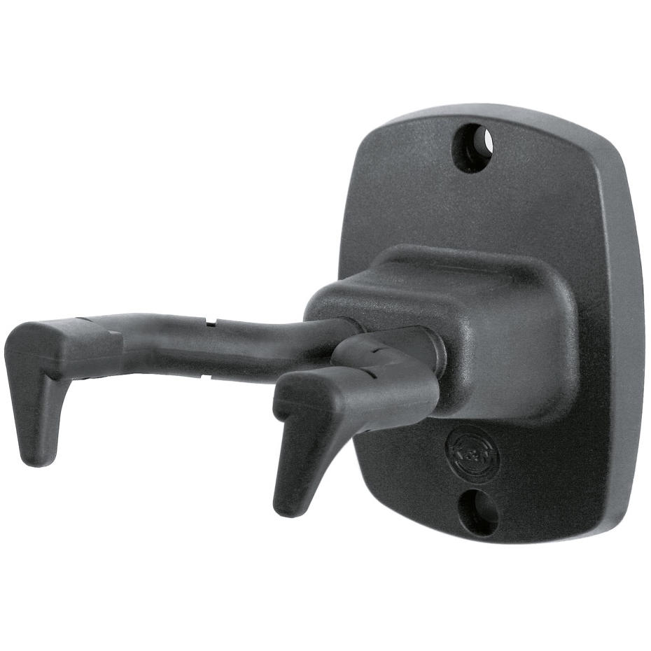 K&M 16240 Guitar Wall Mount - Black