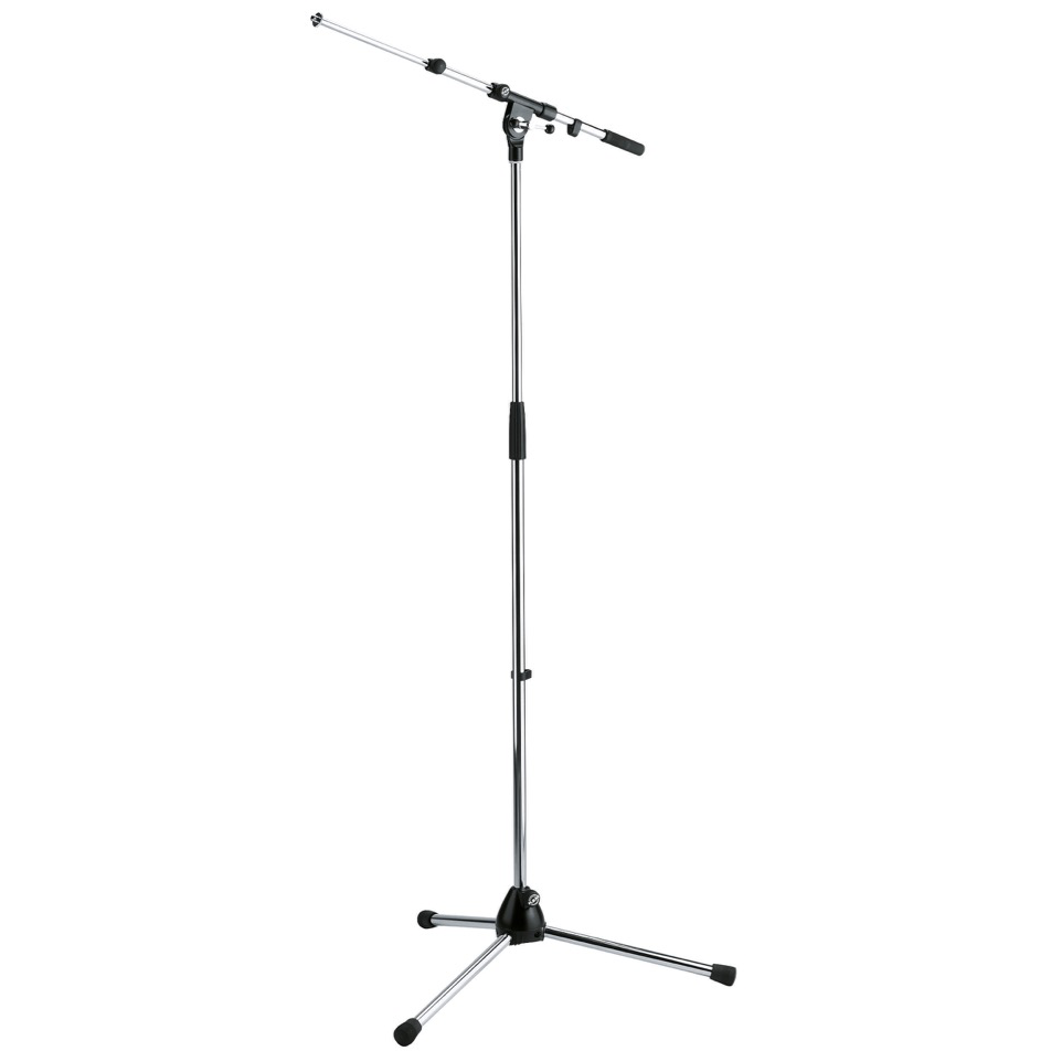 K&M 210/9 Microphone Stand - Chrome