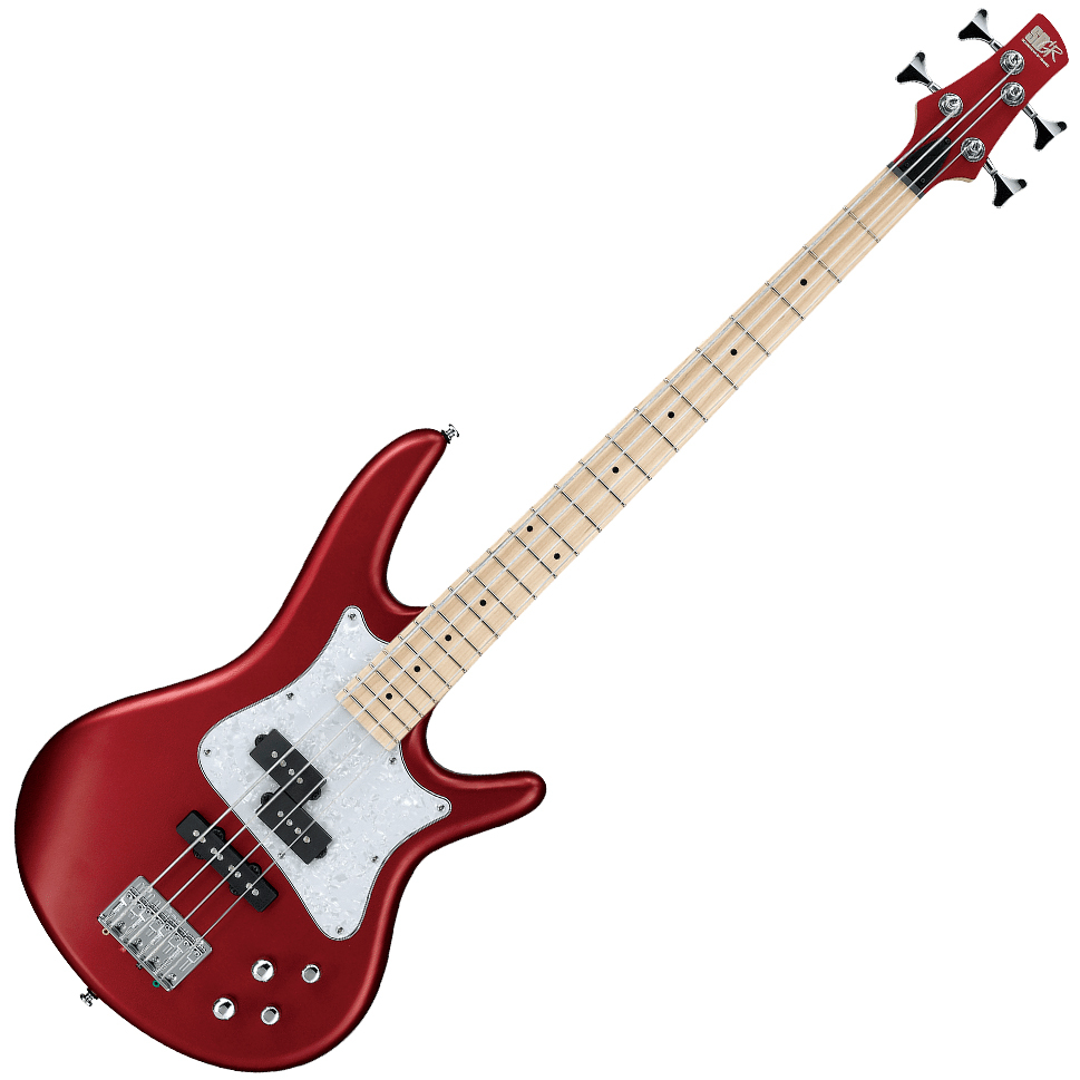 Ibanez SRMD200 CAM Electric Bass - Candy Apple Matte