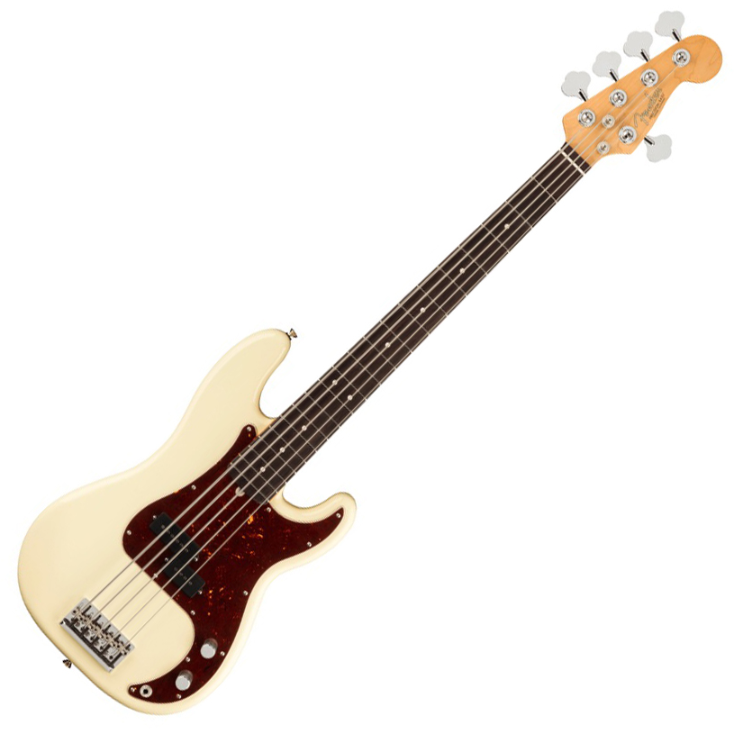Fender American Professional II Precision Bass V - Rosewood/Olympic White