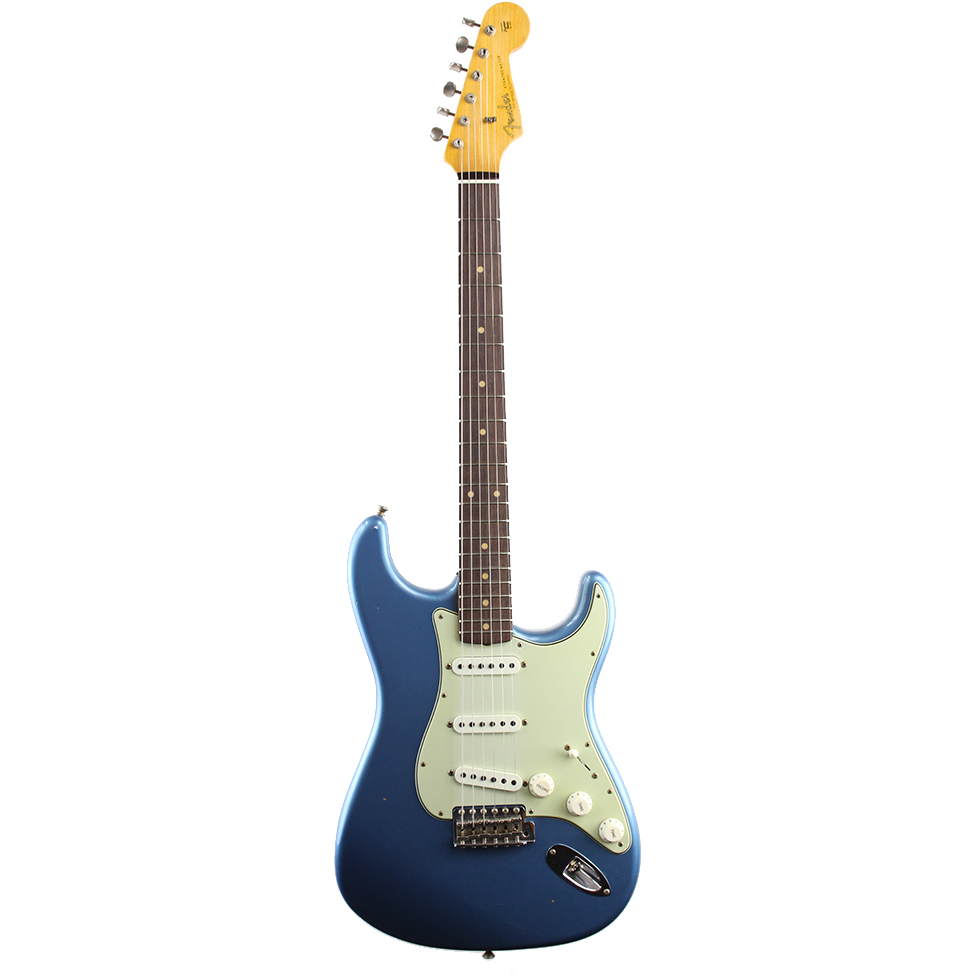 Fender Custom Shop Limited Edition 1961 Stratocaster Journeyman Relic - Faded Lake Placid Blue