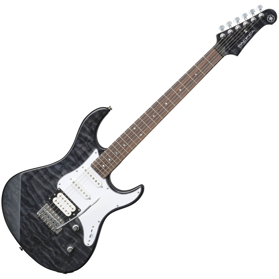 Yamaha Pacifica PAC212Vqm Electric Guitar - Translucent Black