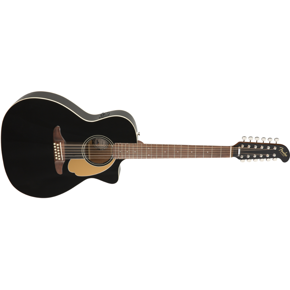 Fender Villager 12-String - Walnut Fingerboard - Black V3