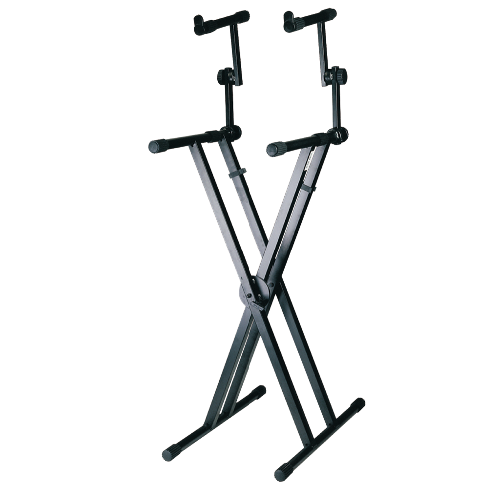 Armour KSD98D 2 Tier Double Braced Keyboard Stand