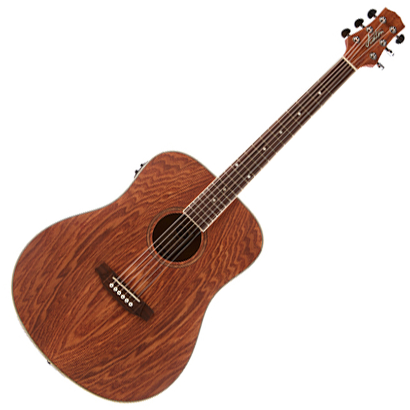 Ashton D26EQ ASH Dreadnought Acoustic Guitar with EQ - Natural