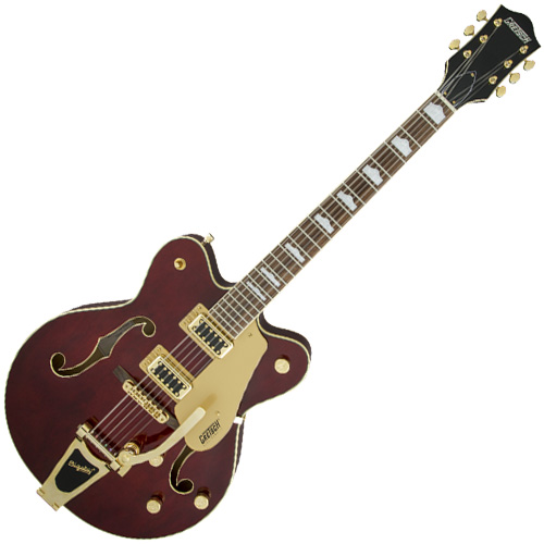 Gretsch G5422TG Electromatic Hollowbody Double-Cut Electric Guitar - Walnut Stain w/Gold Hardware