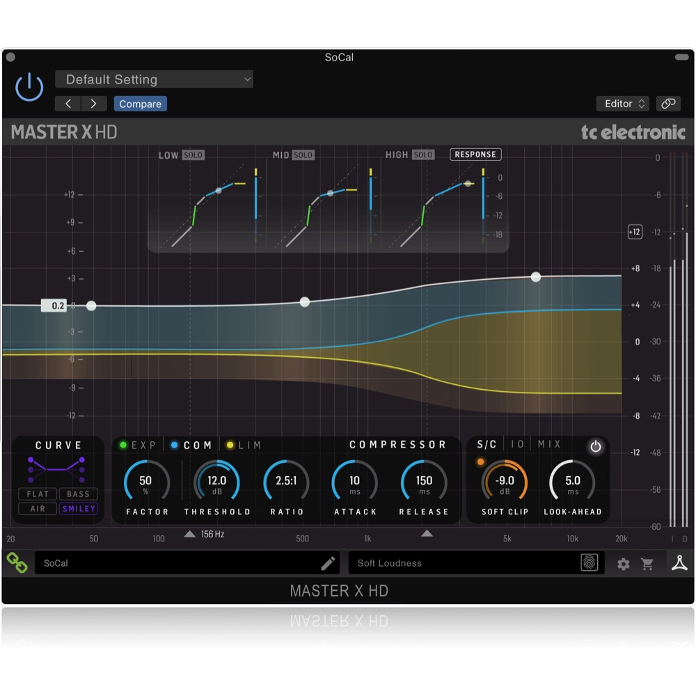 TC Electronic Master X Hd Native / Master X Hd-Dt