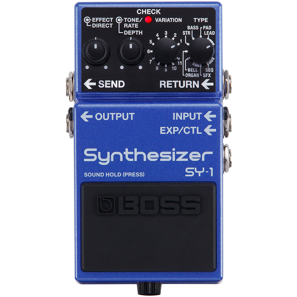 Boss SY1 Synthesizer Guitar FX Pedal