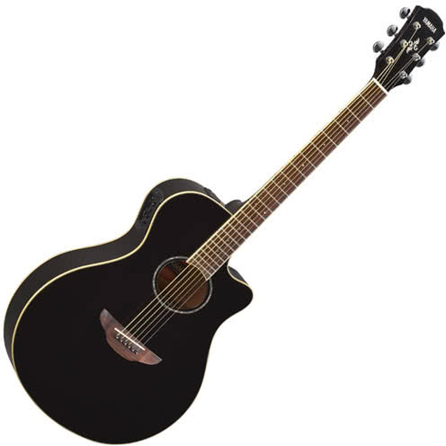 Yamaha APX600 Electric-Acoustic Guitar - Black