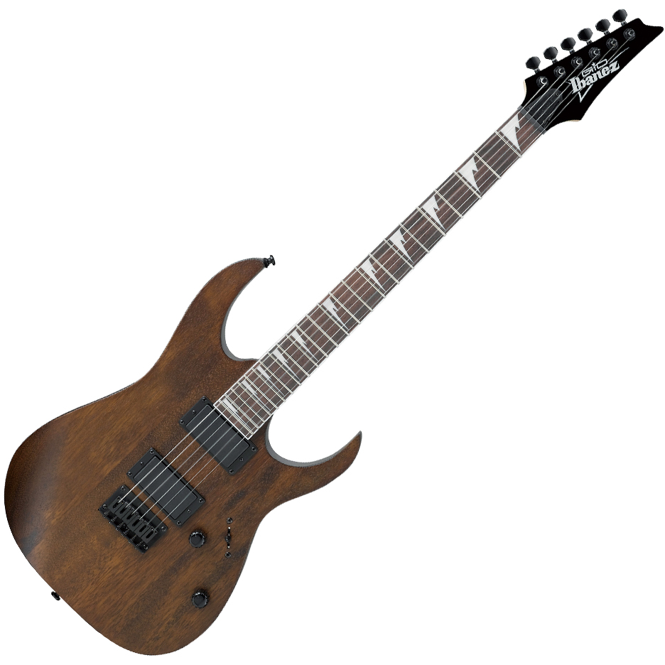 Ibanez R121DX WNF Electric Guitar - Brown