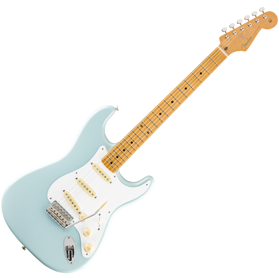 Fender Vintera '50s Stratocaster Electric Guitar - Maple Fingerboard - Sonic Blue