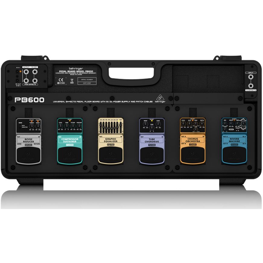 Behringer Pb600 Pedal Board w/Power