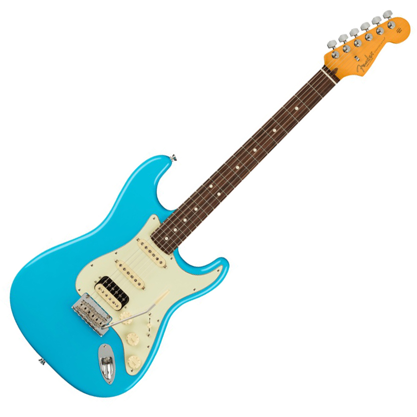 Fender American Professional II Stratocaster HSS - Rosewood/Miami Blue
