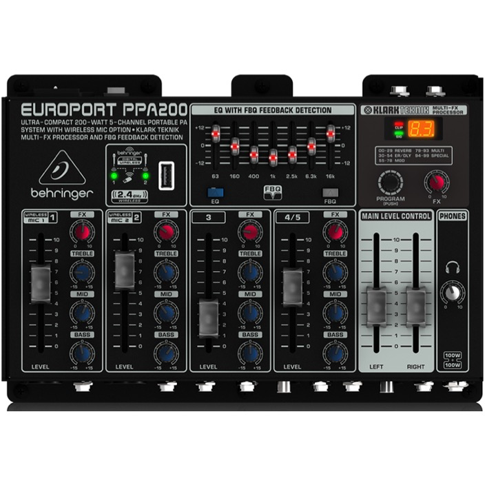 Behringer Europort PPA200 Compact PA