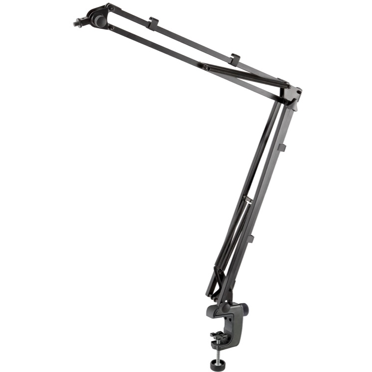 K&M 23840 Microphone Desk Arm - Black