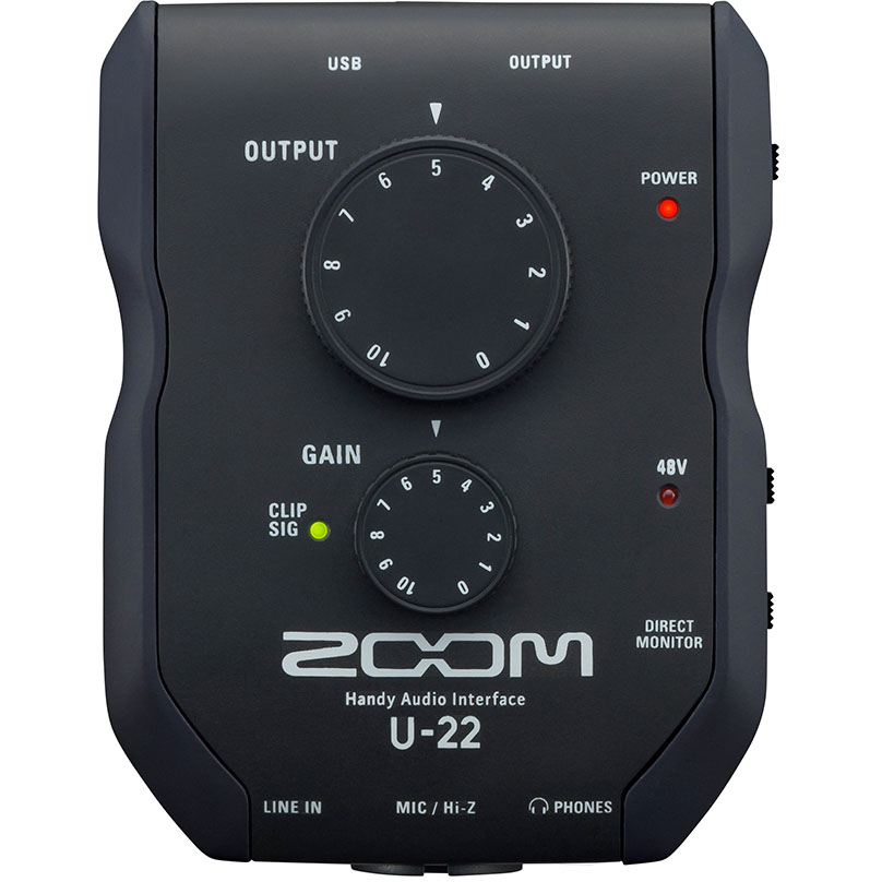 Zoom U-22 Handy USB Audio Interface