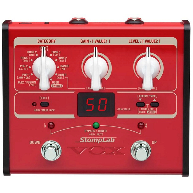 Vox Stomplab I Bass Multi Effects Pedal