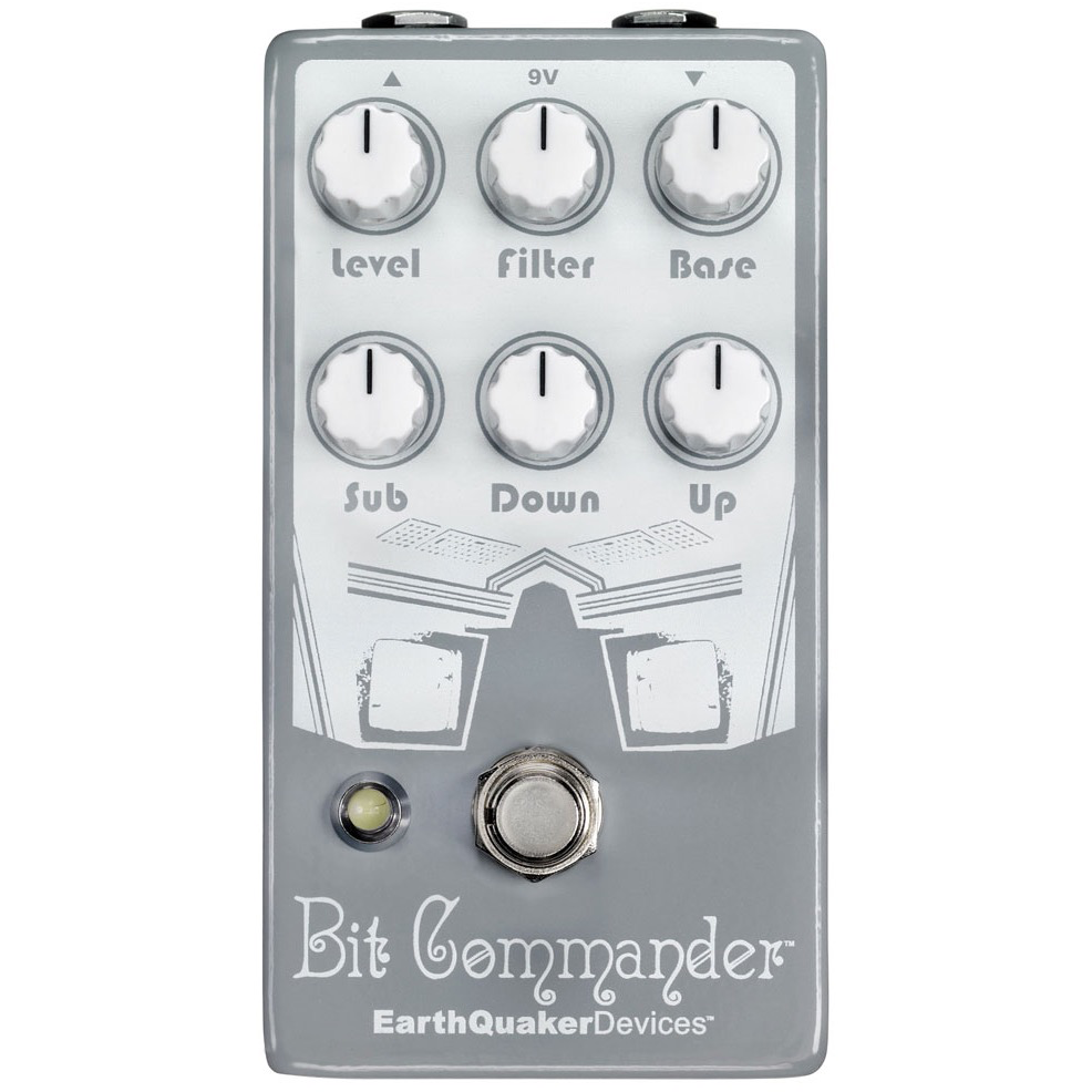 EarthQuaker Devices Bit Commander Analog Octave Synth V2 Pedal Pedal