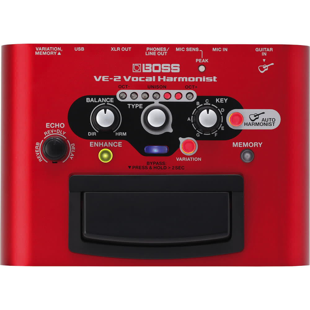 Boss VE2 Vocal Harmonist Effects Processor