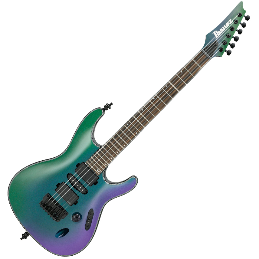 Ibanez S671ALB BCM Electric Guitar - Blue Chameleon